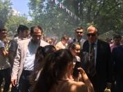 Արմեն Սարգսյանն ու Սուրեն Պապիկյանը՝ Թթի փառատոնին