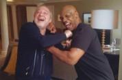 Լևոն Հայրապետյանը և աշխարհահռչակ բռնցքամարտիկ Մայք Թայսոնը՝ համատեղ լուսանկարում