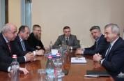 Արցախի ԱԺ նախագահը ՌԴ պատվիրակների հետ քննարկել է ԼՂ հակամարտության կարգավորման հարցեր
