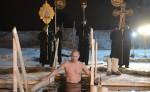 Ինչպես է Պուտինը «մկրտության լոգանք» ընդունում (տեսանյութ)