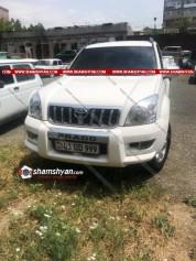 «Օշականցի Գևորիկ» մականվամբ Գևորգ Մելիքյանի մեքենայում հայտնաբերվել է հրազեն