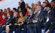 Վարչապետ Փաշինյանն ու տիկին Աննա Հակոբյանը Կարմիր հրապարակում ներկա են գտնվել ֆուտբոլի Աշխ...