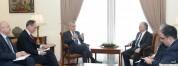 Эдвард Налбандян провел встречу с экс-президентом Австрии Хайнцем Фишером (видео)