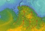 Սահարա անապատից սկիզբ առնող տաք օդի հզոր ալիքը դեկտեմբերի 14-ից սկսում է տեղաշարժվել հյուս...