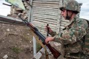 ВС Азербайджана применили пушки Д-44. Армия обороны пресекла наступательную активность ВС Азербайджана, противник понес потери