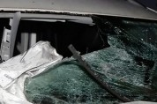 Երևանի «Առինջ մոլ» առևտրի կենտրոնի մոտակայքում բախվել են մեքենաներ