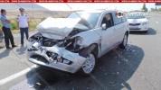 Կոտայքի մարզում 72-ամյա վարորդը Mitsubishi-ով բախվել է արաբ զբոսաշրջիկների տեղափոխող ավտոբ...