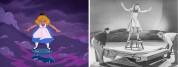 Ռետրո լուսանկարները ցույց են տալիս, ինչպես է նկարահանվել «Ալիսան հրաշքների աշխարհում» մու...