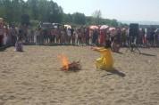 Մարտունիում հանրային լողափի բացմամբ նշվեց Վարդավառի տոնը