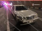 Mercedes-ով բախվել են ՃՈ աշխատակիցների Toyota-ին