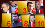Արաբկիրի թաղապետի կտրված ճկույթը Վլադիմիր Գասպարյանին,  Շառլ Ազնավուրի դստեր սպառնալիքը Հայաստանին. Ամենաքննարկվածների TOP 10