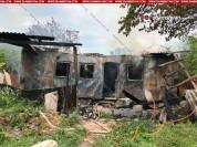 Կոտայքում բնակելի վագոն-տնակում բռնկված հրդեհի հետևանքով արցախյան պատերազմի մասնակիցն ընտա...