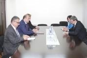 ԱԳ փոխնախարարը հանդիպել է ՄԱԿ-ի Պարենի և գյուղատնտեսության կազմակերպության տնօրենի տեղակալ...