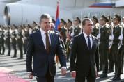 С официальным визитом в Армению прибыл Премьер-министр Российской Федерации Дмитрий Медвед...