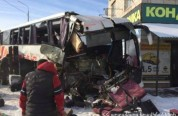 Վորոնեժի մարզում վթարված ավտոբուսի 42 ուղևորներ համընթաց ուղղության տրանսպորտային միջոցներ...