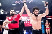 Միհրան Հարությունյանն առաջին հաղթանակն է տոնել MMA-ում