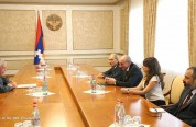 Բակո Սահակյանն ընդունել է Ֆրանսիայի ԱԺ նախկին պատգամավոր Ֆրանսուա Ռոշբլուանին