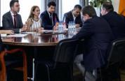 Լիլիթ Մակունցը ՀՀ-ում Վրաստանի արտակարգ և լիազոր դեսպան Գիորգի Սագանելիձեի հետ քննարկել է ...