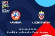 Ազգերի լիգայի Հայաստան-Լիխտենշտեյն հանդիպման տոմսերը վաճառքում կլինեն օգոստոսի 15-ից
