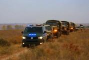 Ռուսական ռազմաբազայի նյութատեխնիկական ահահովման ստորաբաժանումները ուսումնական վարժանքներ ե...