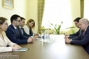 Արդարադատության նախարարն ընդունել է Հայաստանում ՌԴ դեսպանին