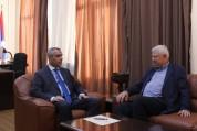 Արցախի ԱԳ նախարարը Անջեյ Կասպշիկի հետ քննարկել է Ադրբեջանում գտնվող ռազմագերու հարցը