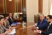 ԵՄ-ն շարունակելու է լայն աջակցության ցուցաբերել ՀՀ-ին. Տիգրան Ավինյանն ընդունել է Կատարինա...