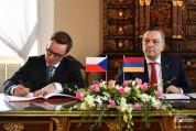 Հայաստանի և Չեխիայի ԱԳՆ-ները քաղաքական խորհրդակցություններ են անցկացրել