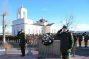 ՀՌՇ զինծառայողները հարգել են Սպիտակի երկրաշարժի զոհերի հիշատակը