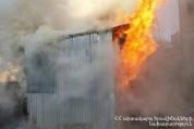 Էջմիածնում ամբողջությամբ այրվել է տնակ