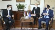 Ալեն Սիմոնյանը հանդիպել է Կիպրոսի ԱԳ նախարարին. քննարկվել են կիպրական կողմի ներդրումային հ...