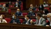 ԱԺ արտահերթ նիստը շարունակվում է. օրակարգում մեկուսացման նպաստի նախագիծն է