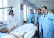 Վիգեն Սարգսյանն այցելել է զինվորական հոսպիտալ