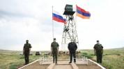 Սահմանին ծածանվող Հայաստանի և Ռուսաստանի պետական դրոշները մեր բարեկամական հարաբերություննե...