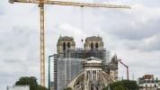 Փարիզում շարունակվում են Աստվածամոր տաճարի վերականգնողական աշխատանքները