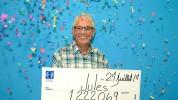 Թոշակառուն կյանքում երկրորդ անգամ 1 մլն դոլար է շահել վիճակախաղով