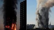 В результате пожара, вспыхнувшего в жилом доме в Лондоне, есть погибшие (видео)