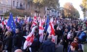 Թբիլիսիում վերսկսել են բողոքի ակցիաները