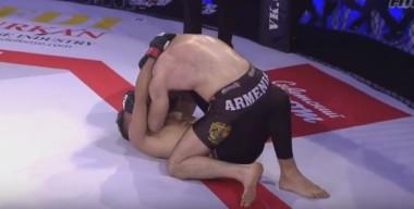 Սարգիս Վարդանյանը ջախջախում է թուրք մարզիկին (տեսանյութ)