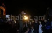 Հանրահավաքն Հանրապետության հրապարակում. ուղիղ միացում