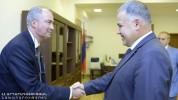 Դավիթ Հարությունյանն ընդունել է ԱՄՀ հայաստանյան առաքելության ղեկավարի գլխավորած պատվիրակու...