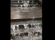 Երևանում քիչ առաջ տեղացած անձրևի հետևանքով մի շարք փողոցներ վերածվել են գետակներ (տեսանյու...