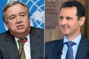 ՄԱԿ-ի գլխավոր քարտուղարը շնորհավորել է Ասադին Սիրիայի անկախության 71-ամյակի առիթով