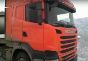 Ջերմուկ-Երևան ավտոճանապարհին բեռնատարը սահել է ճանապարհի երթևեկելի հատվածում՝ դարձնելով այ...