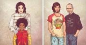 Առաջ և հետո. իլուստրացիաներ այն մասին, թե ինչպես են փոխվել հայտնիները (ֆոտոշարք)