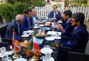 Հակոբ Արշակյանը աշխատանքային ճաշ է ունեցել Իրանի իր գործընկերոջ հետ
