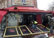 «Դեղին անթև բաճկոնների» շարժման մասնակիցներն այրել են  Le Fouquet's ռեստորանը