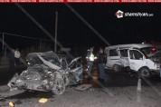 ДТП с участием маршрутного микроавтобуса произошло в Армении, есть пострадавшие