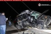 Երևան-Երասխ ավտոճանապարհին ավտոմեքենան բախվել է գովազդային վահանակին. վարորդը տեղում մահաց...