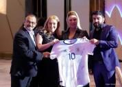 Արգենտինայի ազգային հավաքականի ֆուտբոլիստներն աջակցել են Աննա Հակոբյանի ղեկավարած հիմնադրա...